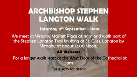 stephen langton walk 2017