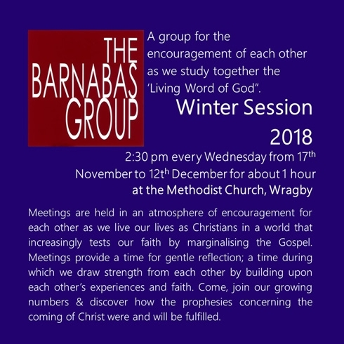 barnabas winter 2018